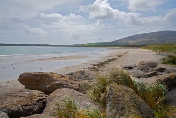 Ventry Beach - the start of Cosan na Naomh (The Saints Road)