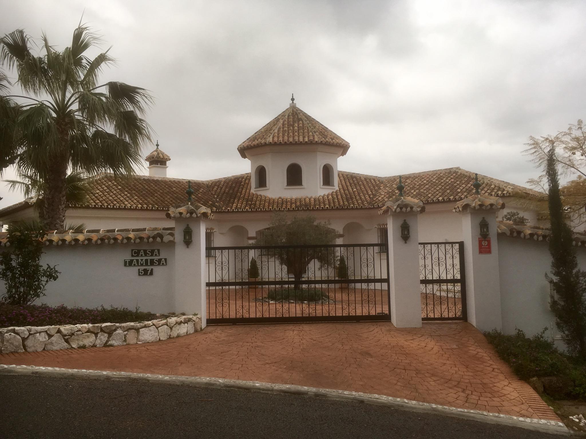 Gran Senda de Malaga: GR249  23/24thFeb  Entrerrios to Mijas
